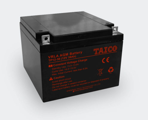 TAICO 12V AGM Lead Acid Battery