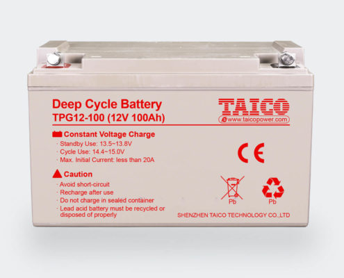 Lead Acid Battery - Supply 2V & 12V Deep Cycle GEL Battery