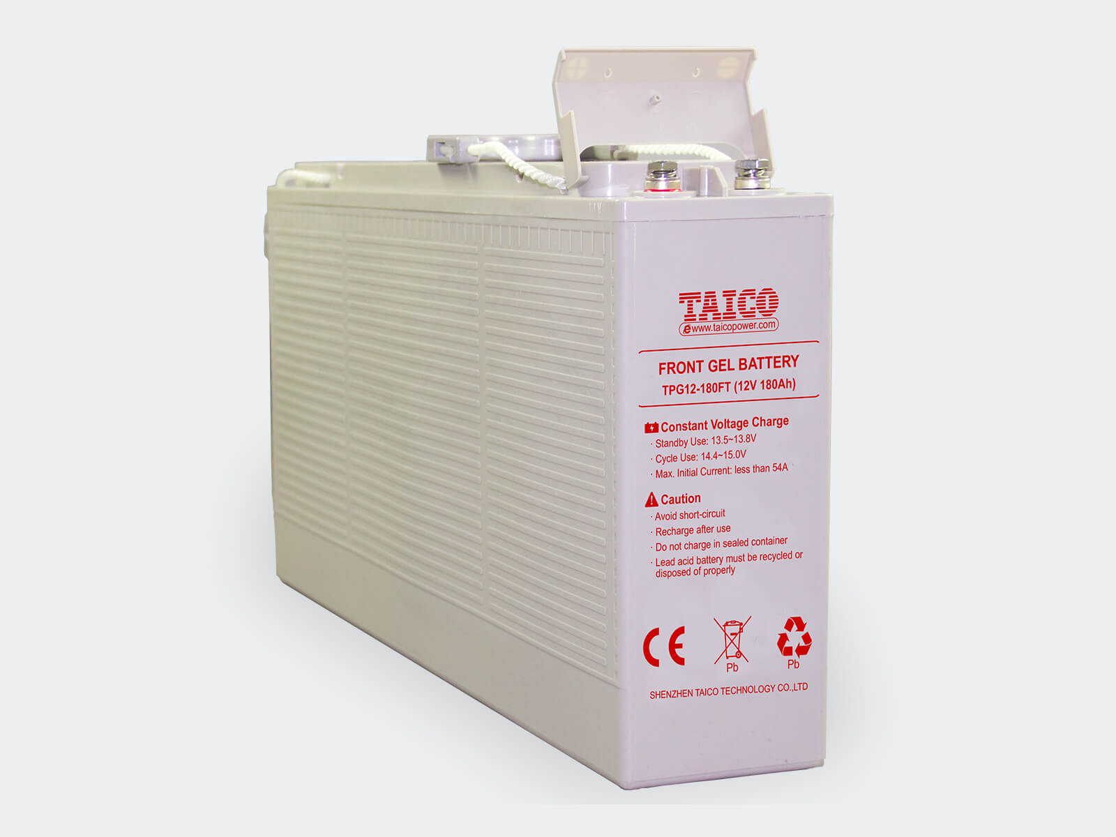 TAICO Front Terminal Gel Battery