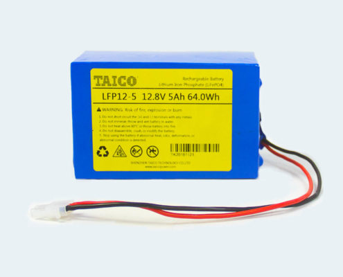 TAICO LFP12-5 12.8V 5Ah LiFePO4 Battery