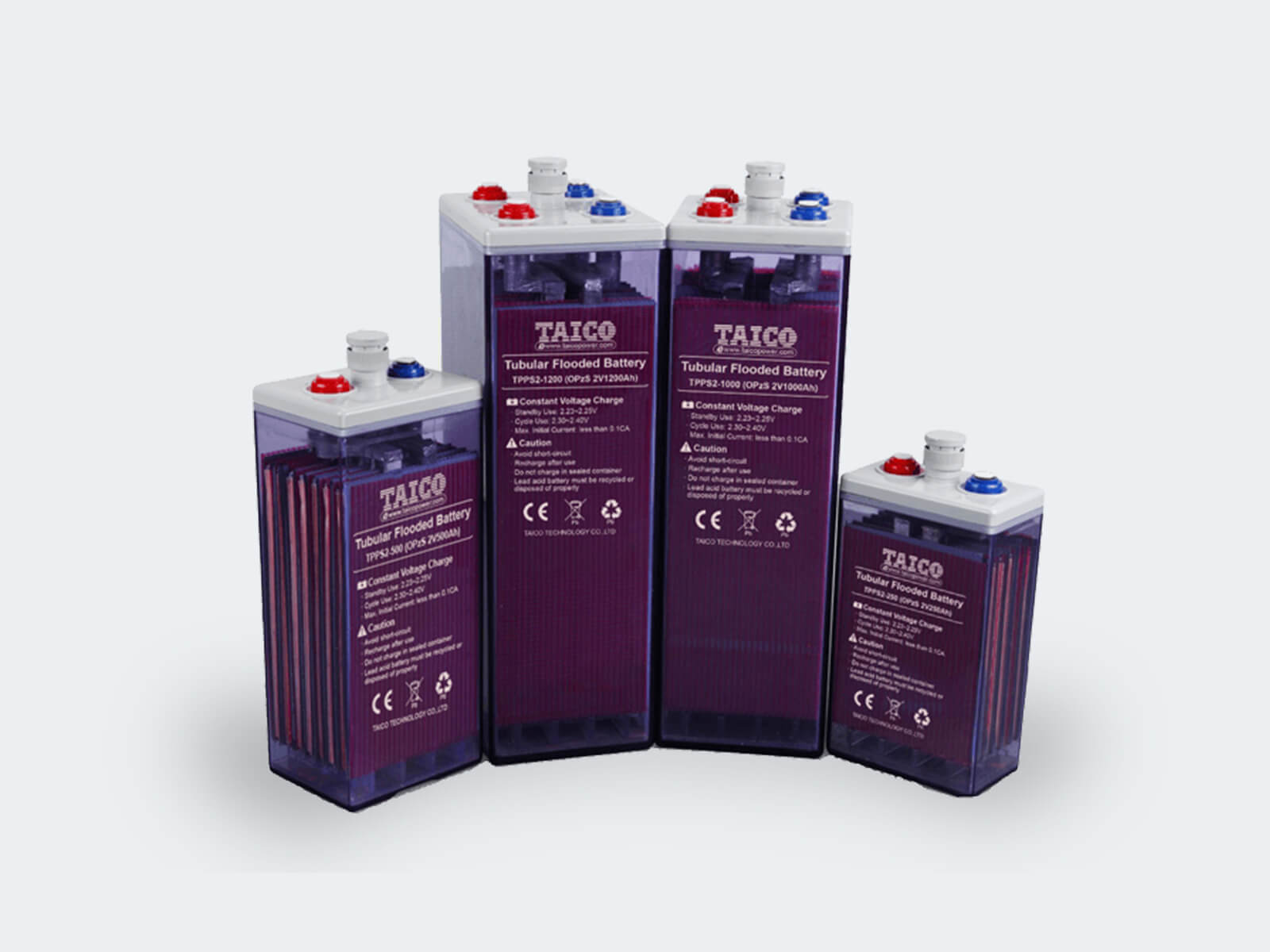 TAICO Opzs Tubular Flooded Battery