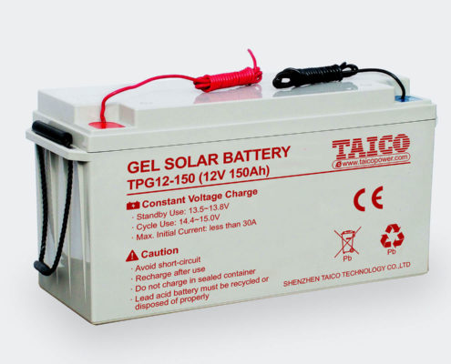 TAICO Solar Street Light Lead Acid Battery